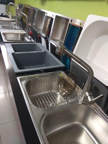 Кухонные мойки в Кыргызстан: Кухонные мойки из нержавеющей стали ф- мы Avina и WalsBonke, и из