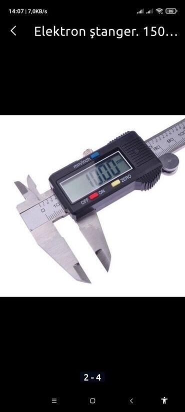 Elektron ştangel ağzı 15 0 mm açılır işlənməyib təzədir