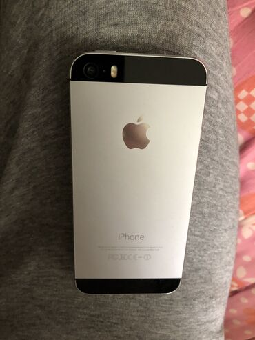 apple iphone 4 32gb в Кыргызстан: Б/У iPhone 5s 16 ГБ Черный