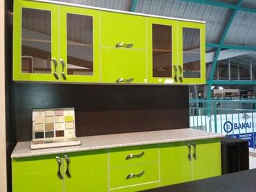 доставка кухонной мебели в Кыргызстан: Кухонный гарнитур 2м 22000сом-корпусная мебель на заказ-замер, дизайн