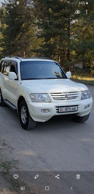 Автомобили - Кыргызстан: Mitsubishi Montero 3.5 л. 2001 | 180000 км