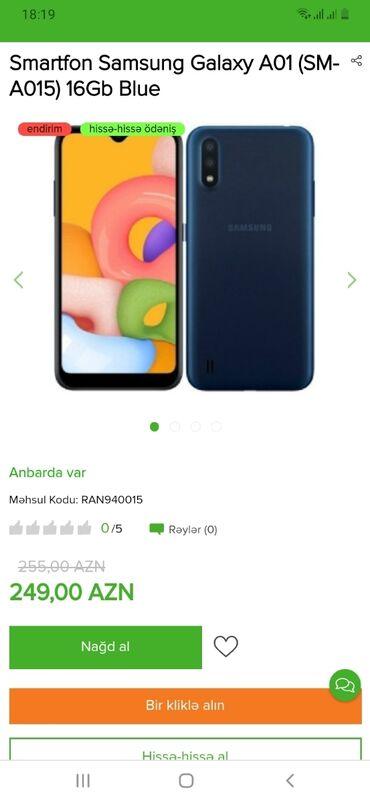 Samsung - Saray: Həm nəğd həm hissə-hissə ödənişlə Tək şəxsiyyət vəsiqəsi ilə