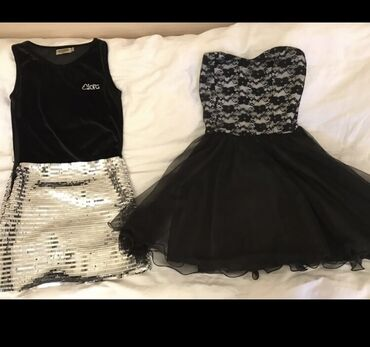 Продаю 3 платья в идеальном состоянии. носили по 1 разу. На 9-12 лет