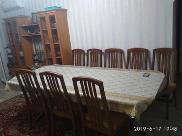большой мощный сабвуфер в Кыргызстан: Срочно продаю большой стол 12 стульев дубовый!!!