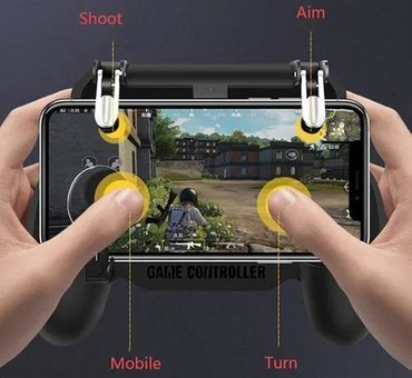Джойстик триггер pubg Mobile с PowerBank art:SR+