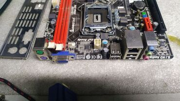 Материнская плата Biostar H61MGV3 Socket: Intel LGA 1155;Форм-фактор