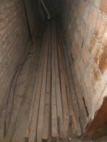 Стропила 8шт, бу, Длина 380 см Ширина 15 см Высота 5,5 см в Бишкек