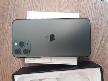 телефон флай ff246 в Азербайджан: Б/У IPhone 11 Pro 256 ГБ Зеленый