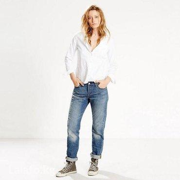 Levi's 501® jeans for women. цвет true blue. размер 26, 27. в Бишкек