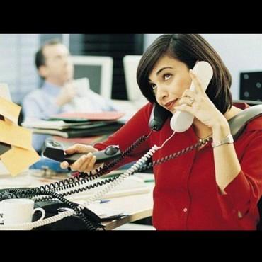 Требуется женщина на телефон в Бишкек