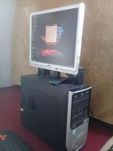 lcd монитор acer al1717 в Кыргызстан: Продается компьютер.Процессор: LGA 775 core 2 duo E8400 3.00 ghz