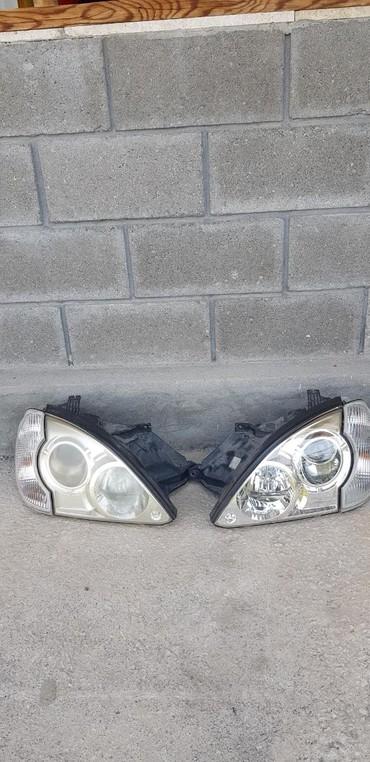 черный hyundai в Кыргызстан: Фары на Hyundai terrakanсостояние одного отличное другого немножко