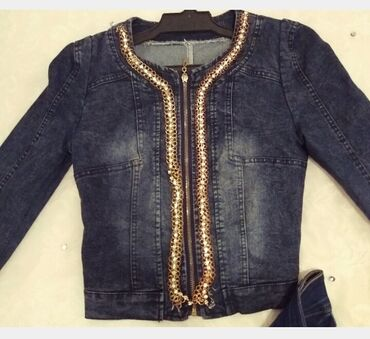 Джинсовый пиджак одето один раз