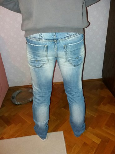 Lepe sačuvane farmerice 900 din,skraćene su,nogavice su dugačke - Ruski Krstur