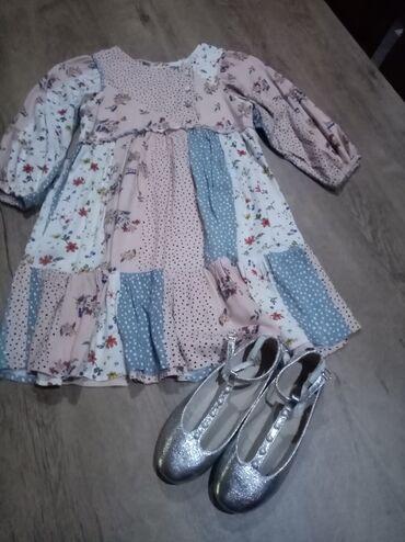 Dečija odeća i obuća - Nova Pazova: Divna Zara haljina vel 9 kroja Sara key u odličnom stanju bez ikakvih