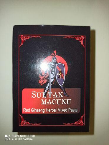 epimedyumlu macun terkibi - Azərbaycan: Sultan etirası artıran macun