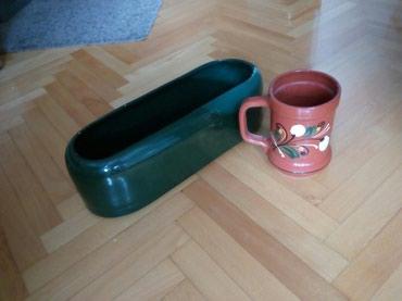 Vaza braon i poklon  dugacka vaza za bukete  - Nis