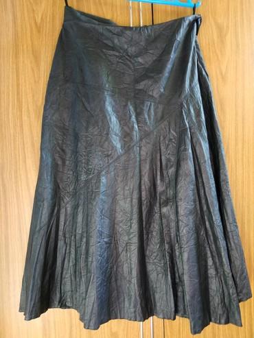 юбка солнце из кожи в Кыргызстан: Юбка кож зам качество отличное покупала за 40$ производство Турция на