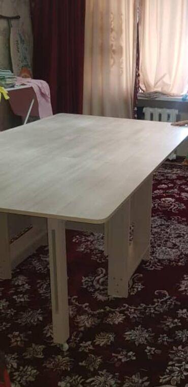 stol ot shvejnoj mashinki в Кыргызстан: Стол книжка 2.00×1.10  Срочно продается