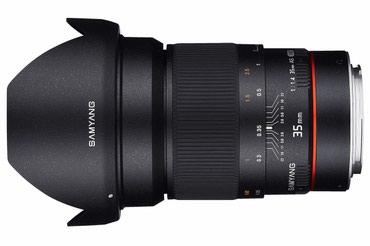 Samyang АЕ 35mm f1.4 для Canon. Масло. Супер в Бишкек