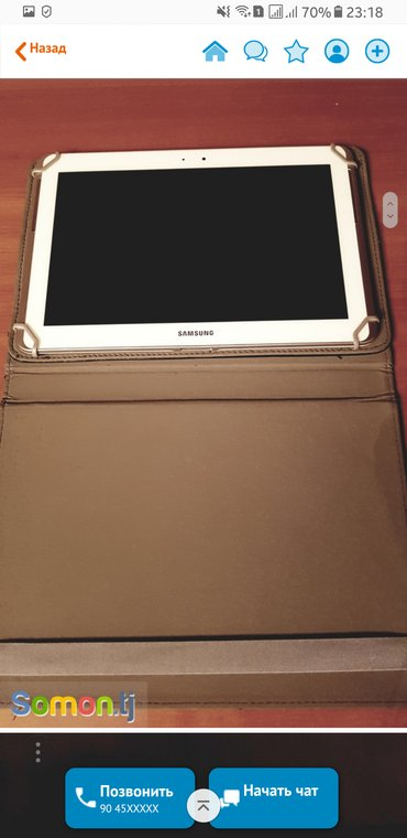 Samsung galaxy tab 2 10. 1  32 gb memory  + case new and documents в Душанбе