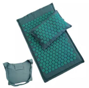Массажный коврик, Пранамат, коврик с шипами, йога на шипах. Эко мат