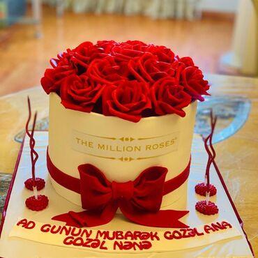 Keytrinq - Yevlax: Yevlax ev tortları sifarişi. Her cür ölçüde, malçipan ve adi tortların