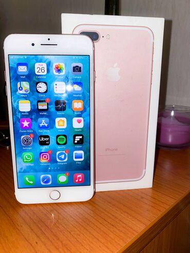 7 plus - Azərbaycan: İşlənmiş iPhone 7 Plus 128 GB Cəhrayı qızıl (Rose Gold)