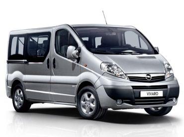 Kombi prevoz putnika sa 8 sedista, Prevoz putnika kombijem 'Opel - - Kraljevo