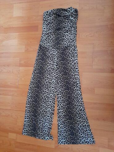 Летний комбинезон ткань холодок леопард сидит шикарно на любую фигуру