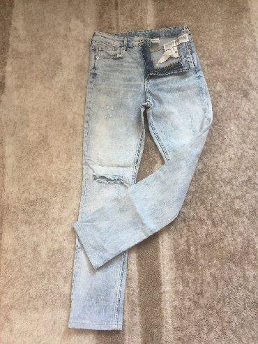 джинсы с разрезом на коленках в Кыргызстан: Женские джинсы HM