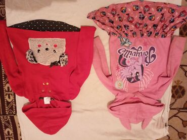 Платья и кофта для девочек на 3-4г, б/у но состояния хорошая. За все