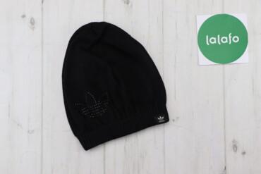 Жіноча шапка із оздобленим логотипом Adidas    Довжина: 22 см Ширина