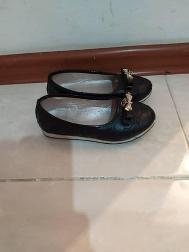 балетки войлочные в Кыргызстан: 29размер черные балетки туфли