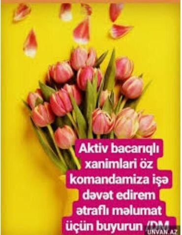 Xanımların nəzərinə Yaş həddi 18 __ 50 yaşa kimiMəlumat üçün