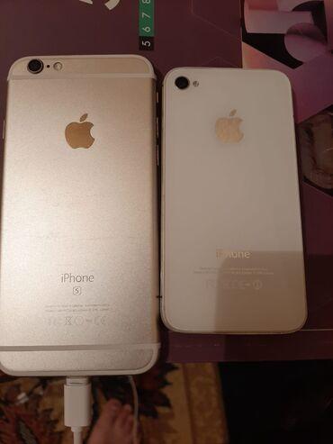 apple 4s - Azərbaycan: 6s+4s=350azn ikisi bir yerdə satılır(yazın)barter olunur,A50-dən