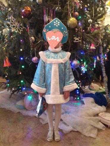Продаю костюм Снегурочки на девочку 7-8 лет в Бишкек