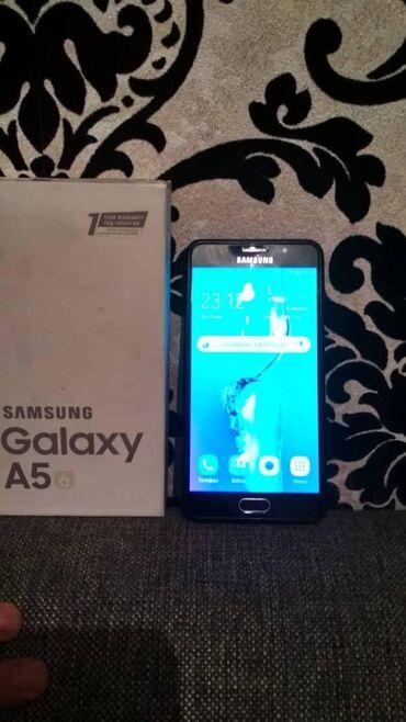 Б/у Samsung Galaxy A5 2016 16 ГБ Черный