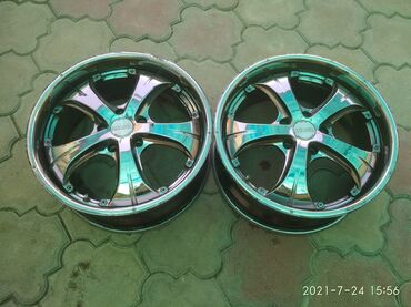 Транспорт - Кок-Джар: Продаю 2штуки(пара) диски R18/5*114.3 подходят на Хонда и Тойота