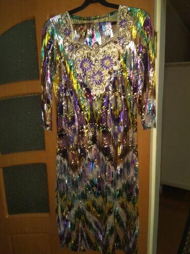 платье со штанами узбекские в Кыргызстан: Платье со штанами узбекское