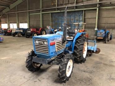 Продается надежный японский мини трактор ISEKI TL2300. Оснащен 3х
