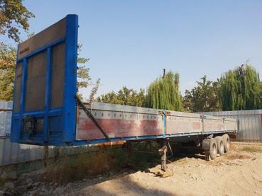 Срочно!!! полуприцеп тент, 2001 г.в состояние отличное  цена: 5000$  в Бишкек