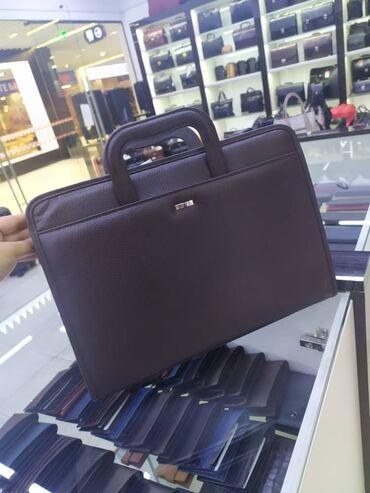 """сумка для в Кыргызстан: Кожаный портфель """"Butun"""", состояние """"новый"""" торг. уместен"""