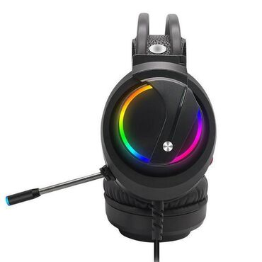 наушники 7 1 в Кыргызстан: Игровая гарнитура RGB K1 USB 7.1