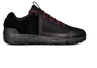 Черные кроссовки Under Armour UA Burnt River 2.0 Low