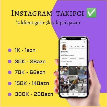 sendivic panel - Azərbaycan: Instagram panel Endirim olacaq elave