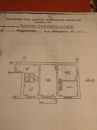 Недвижимость - Каирма: 3 комнаты, 46 кв. м Не сдавалась квартирантам, Неугловая квартира