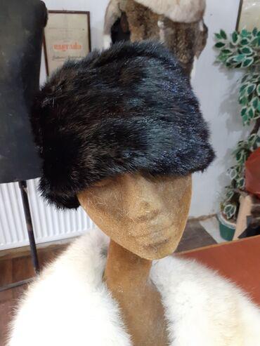 Ženski kaputi - Srbija: Šubara od nerca Bim 58 60cm