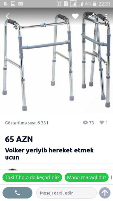 Bakı şəhərində Az istifade olunub 75 m alinib 60m satilir hec bir problemi yoxdur