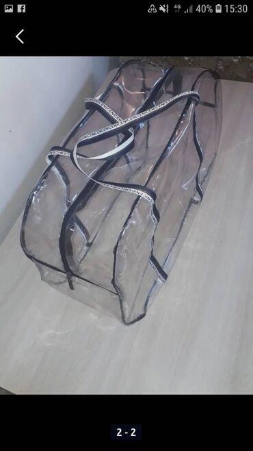 сумка кенгуру для ребенка цена в Кыргызстан: Прозрачные сумки для роддома! Оптом и розницу Материал пах Размер 53/3